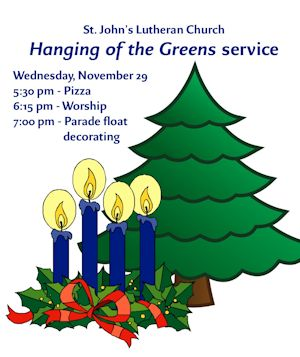 Hanging of the Greens Graphic